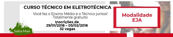 Eletrotécnica - Modalidade EJA