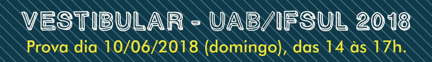 Vestibular UAB 2018 - Locais de Prova